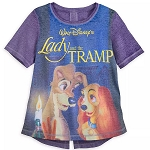 Disney Women's Shirt - Lady and the Tramp VHS Case