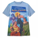 Disney Men's Shirt - The Emperor's New Groove VHS Cover