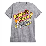 Disney Men's Shirt - Bobby's Pizza - The Goofy Movie