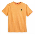 Disney Men's Shirt - Mickey Mouse Original - Orange