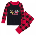 Disney Baby Pajamas - Mickey Mouse and Friends Holiday PJ PALS