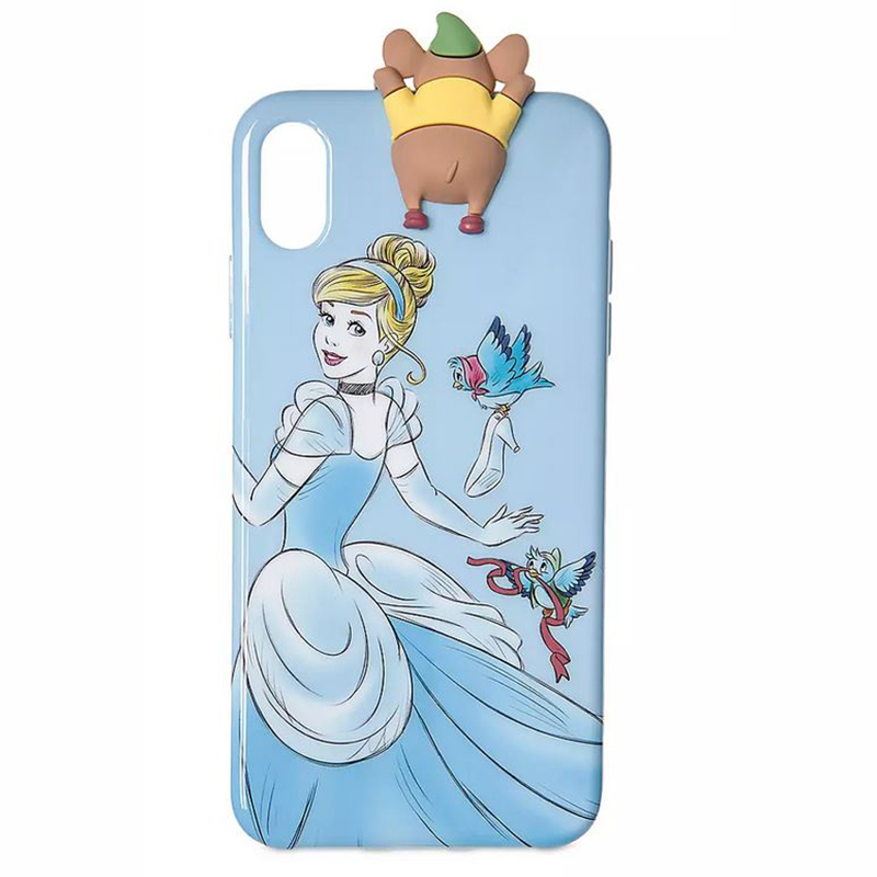 Disney iPhone X / XS Case - Cinderella and Gus