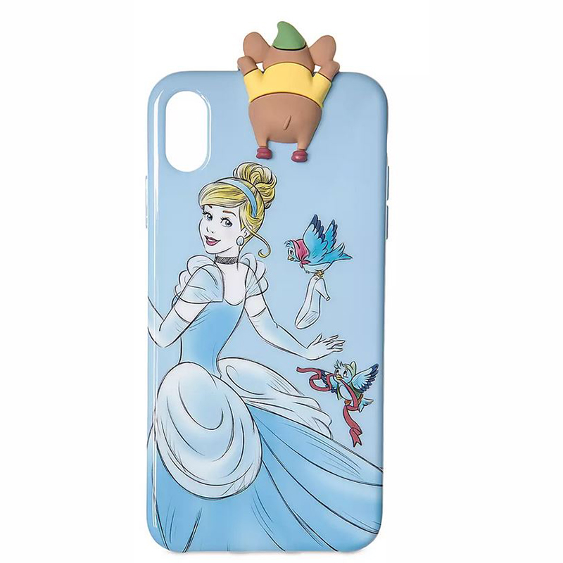 Disney iPhone Xs Max Case - Cinderella and Gus