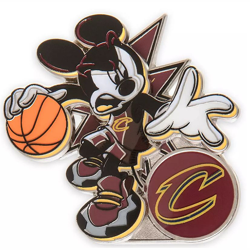 Disney Pin - Mickey Mouse NBA Experience Pin – Cleveland Cavaliers