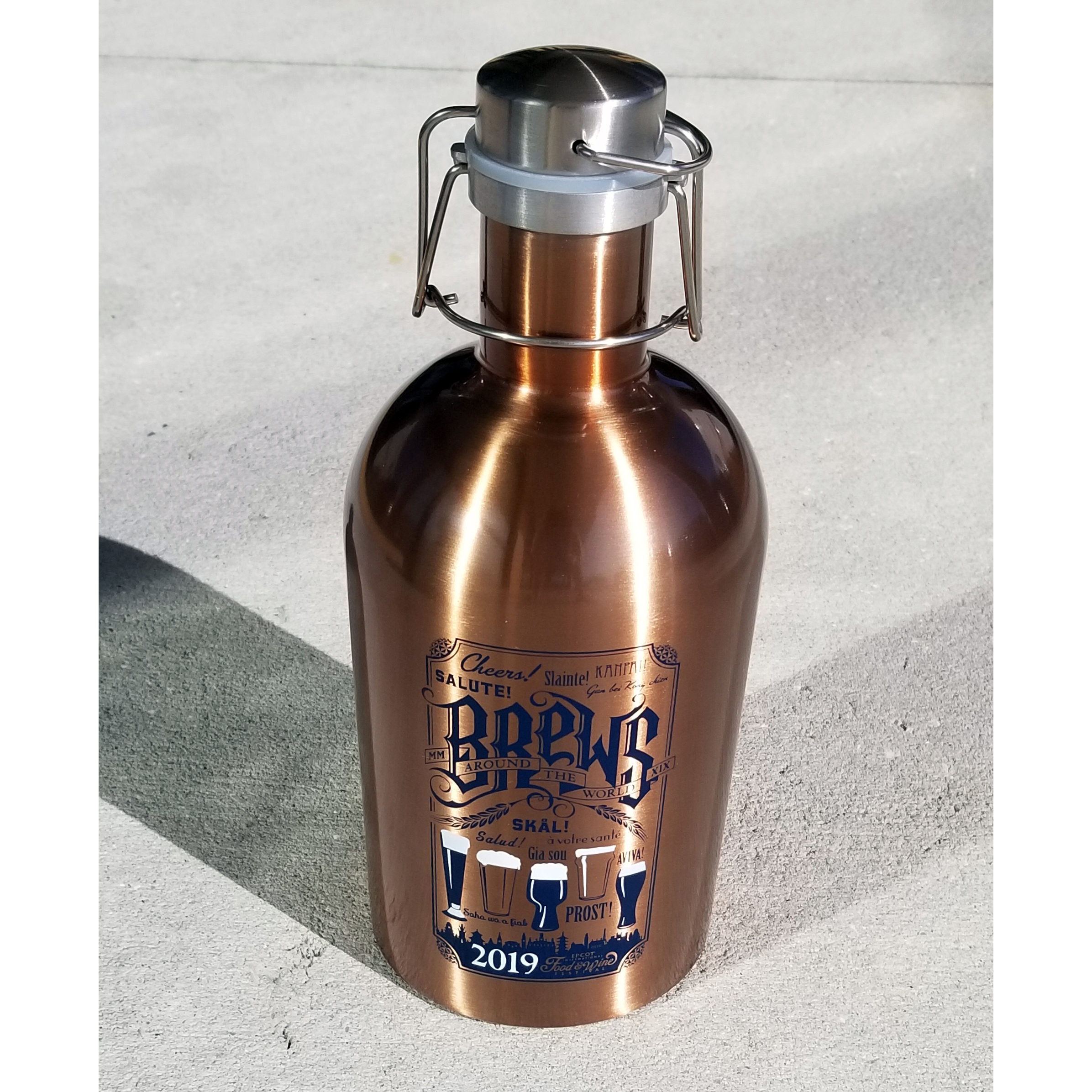 Disney Growler - Food and Wine 2019 64oz Copper Growler