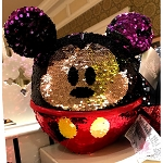 Disney Plush Pillow - Mickey Mouse Reversible Sequin