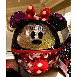 Disney Plush Pillow - Minnie Mouse Reversible Sequin