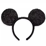 Disney Minnie Ear Headband - Black Sequin