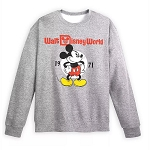 Disney Adult Sweatshirt - Mickey Mouse - Walt Disney World