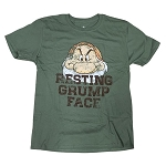 Disney Adult Shirt - Grumpy - Resting Grump Face
