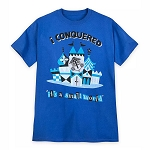 Disney Adult Shirt - I Conquered  It's a Small World