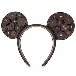 Disney Minnie Leather Ear Headband - COACH - Designer Collection