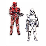 Disney Pin Set - Stormtrooper & Sith Trooper - Star Wars Rise of the Skywalker