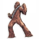 Disney Pin - Chewbacca - Star Wars Rise of the Skywalker
