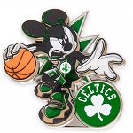 Disney Pin - Mickey Mouse NBA Experience Pin – Boston Celtics
