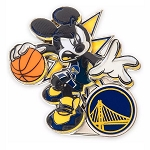 Disney Pin - Mickey Mouse NBA Experience Pin – Golden State Warriors