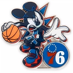 Disney Pin - Mickey Mouse NBA Experience Pin – Philadelphia 76ers