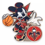 Disney Pin - Mickey Mouse NBA Experience Pin – New Orleans Pelicans