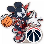 Disney Pin - Mickey Mouse NBA Experience Pin – Washington Wizards
