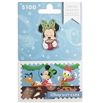 Disney Collectible Gift Card with Pin - Yuletide Christmas Series - Minnie Mouse