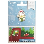 Disney Collectible Gift Card with Pin - Yuletide Christmas Series - Donald Duck