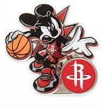 Disney Pin - Mickey Mouse NBA Experience Pin – Houston Rockets