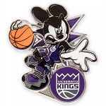Disney Pin - Mickey Mouse NBA Experience Pin – Sacramento Kings