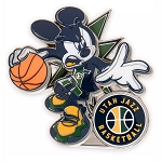 Disney Pin - Mickey Mouse NBA Experience Pin – Utah Jazz