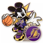 Disney Pin - Mickey Mouse NBA Experience Pin – Los Angeles Lakers