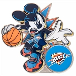 Disney Pin - Mickey Mouse NBA Experience Pin – Oklahoma City Thunder