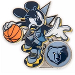 Disney Pin - Mickey Mouse NBA Experience Pin – Memphis Grizzlies
