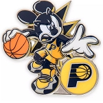 Disney Pin - Mickey Mouse NBA Experience Pin – Indiana Pacers