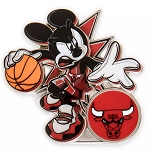 Disney Pin - Mickey Mouse NBA Experience Pin – Chicago Bulls