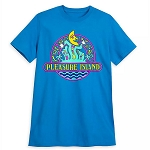 Disney Adult Shirt - Pleasure Island Logo