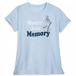 Disney Women's Shirt - Olaf - Water Has Memory - Frozen 2