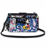 Disney Vera Bradley Bag - Mickey Mouse Whimsical Paisley - Deluxe All Together Crossbody