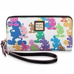 Disney Dooney & Bourke - Mickey Mouse - 10th Anniversary - Wallet Wristlet