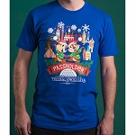 Disney Adult Shirt - Epcot International Festival of the Holidays 2019 - PASSHOLDER