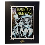 Disney Deluxe Artist Print - The Haunted Mansion #50 - Brian Crosby - 50th Anniversary Edition