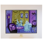 Disney Deluxe Artist Print - 31 Ghosts - Shag - 50th Anniversary Edition