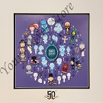 Disney Artist Print - Jerrod Maruyama - Haunted Mansion of Cute