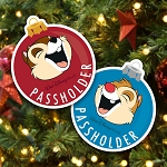 Disney Passholder Magnet Set - Chip & Dale - Epcot Festival of the Holidays 2019 - PASSHOLDER