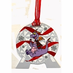 Disney Ornament w/ Map & Stickers - Chip & Dale's Christmas Tree Spree 2019 - FIGMENT - Epcot Festival of the Holidays