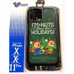 Disney iPhone X / Xs / 11 Pro Phone Case - Chip & Dale - I'm Nuts About the Holidays - Epcot Festival of the Holidays 2019