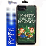 Disney iPhone 6s Plus / 7 Plus / 8 Plus Phone Case - Chip & Dale - I'm Nuts About the Holidays - Epcot Festival of the Holidays 2019