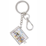 Disney Keychain Keyring - Walt Disney World Autograph Book