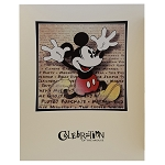 Disney Artist Print - Celebration Of The Mouse - Dave Avanzino - Mickey Mouse Off The Page