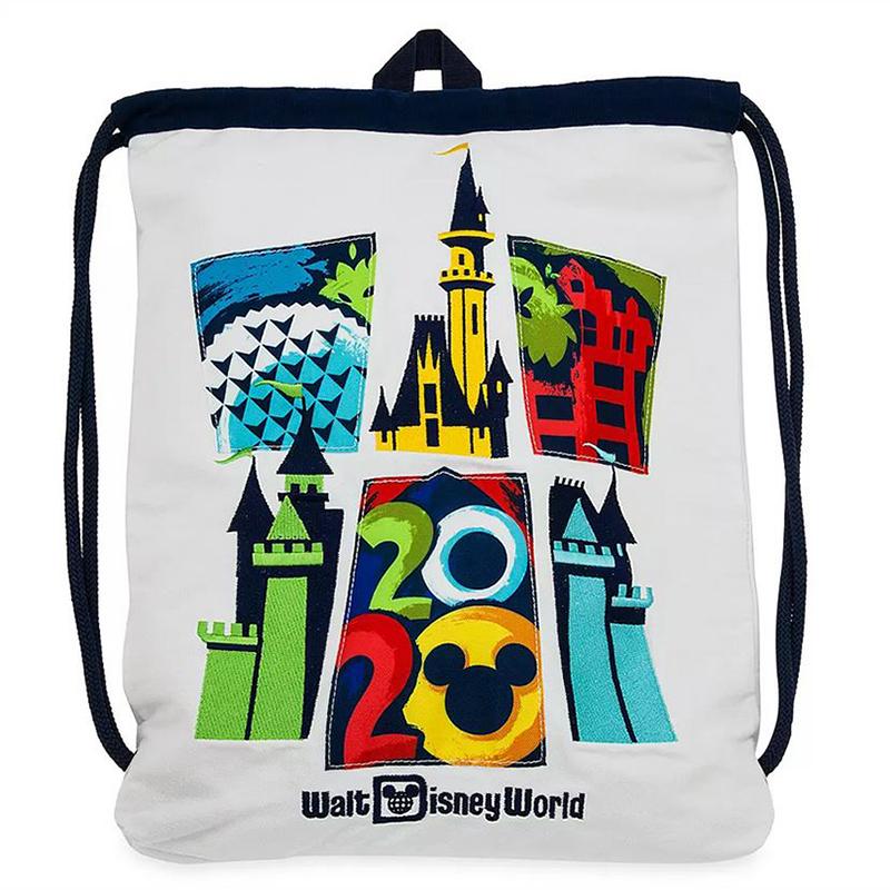 Disney Drawstring Cinch Bag Walt