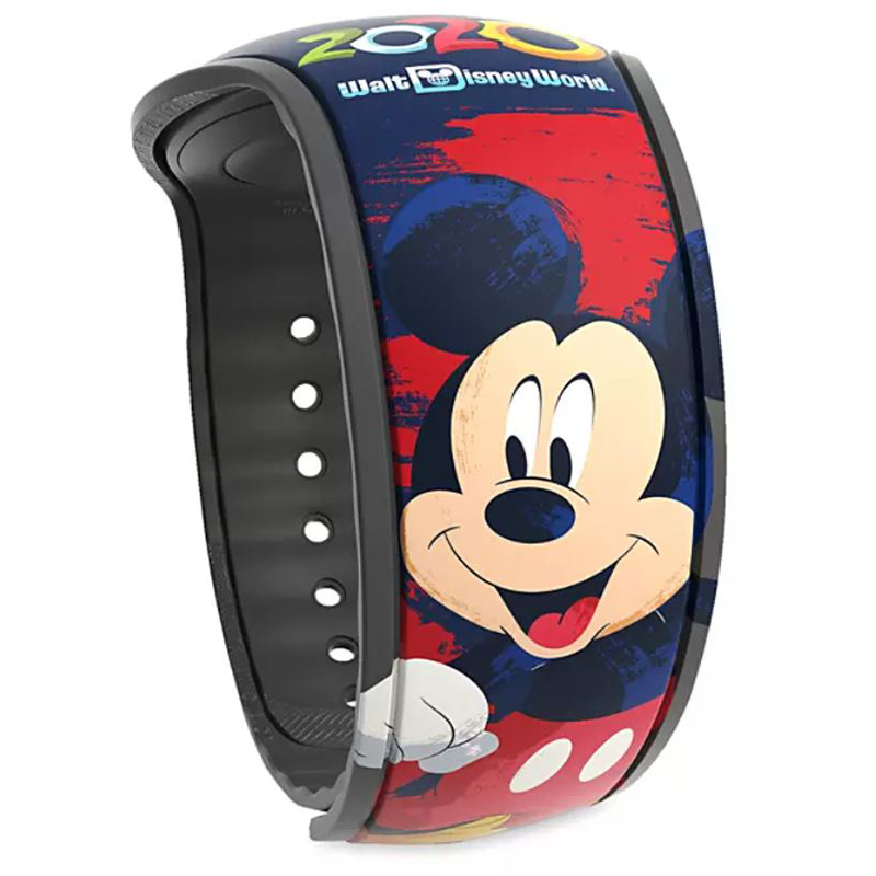 Disney MagicBand 2 Bracelet - Walt Disney World 2020 Logo - Limited Release