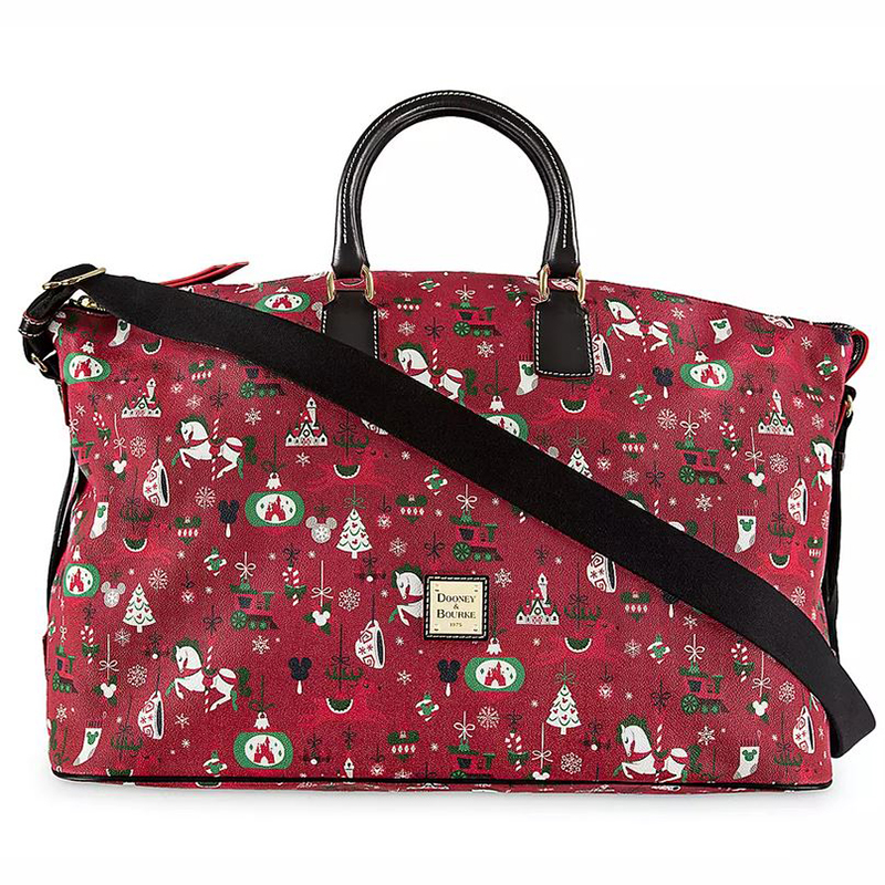 Disney Dooney & Bourke Bag - Yuletide Farmhouse - Weekender Tote